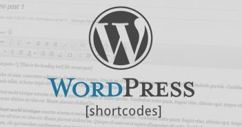 What is a shortcode in wordpress?